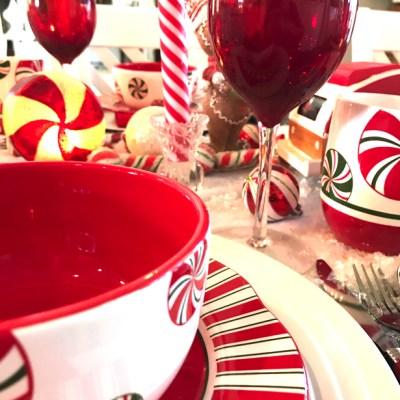 Candyland tablescape