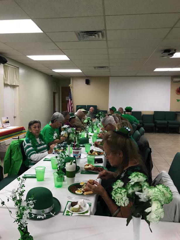 Elite Fleet St. Patrick's Day Dinner