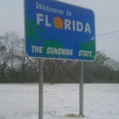 Ask Me How Cold Is It In Florida?