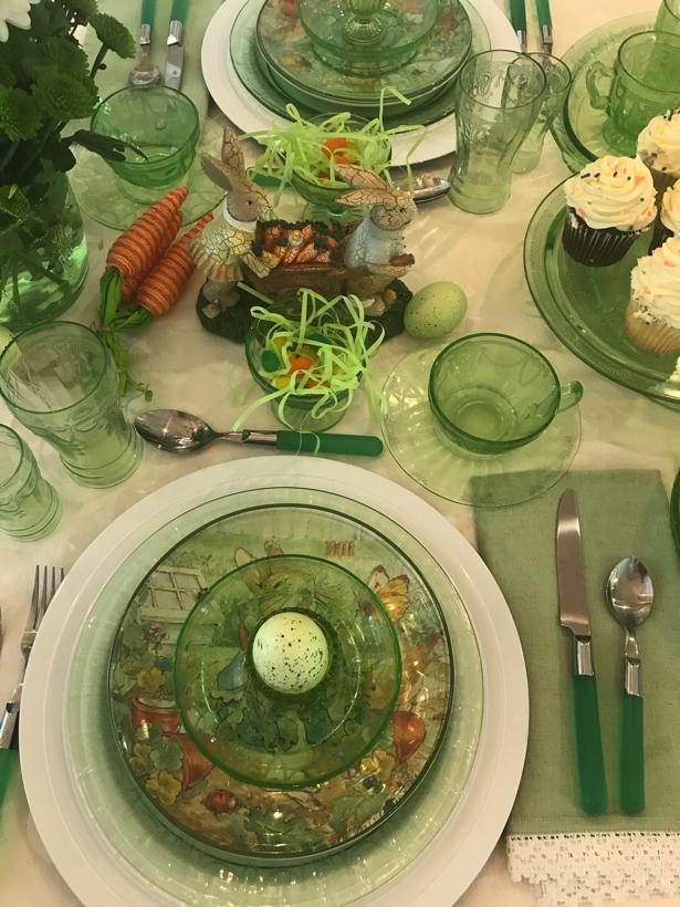 Green Cameo