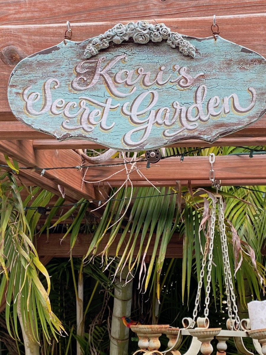 Kari's Secret Garden and the teacup