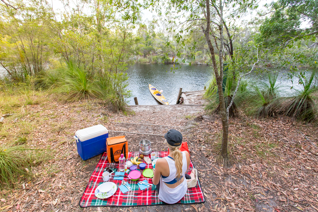 Noosa Everglades Healthy Picnic Camp 2 Kayak Overnight Tour