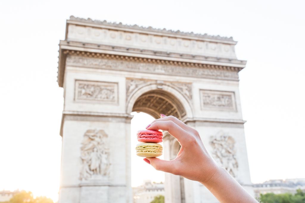 how to eat healthy in Paris Macarons