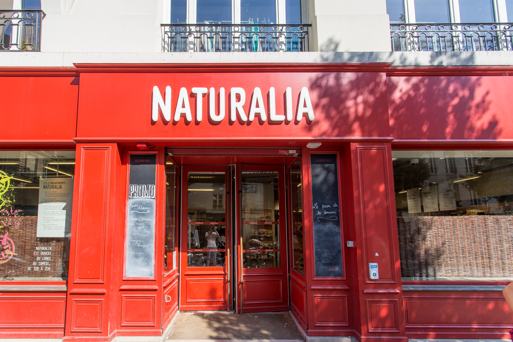 how to eat healthy in Paris Naturalia
