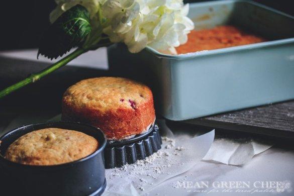 Raspberry Lemon Cake | Mean Green Chef