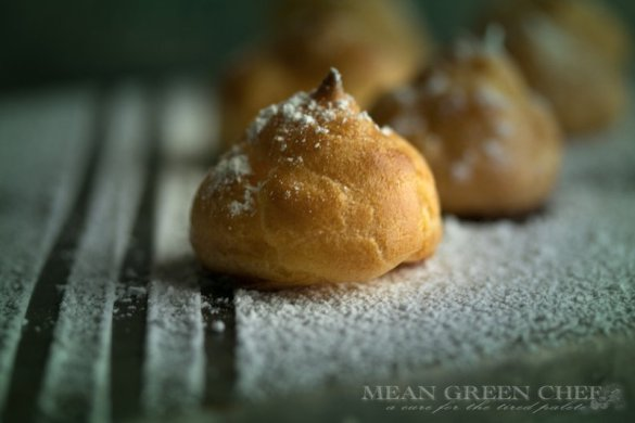 Pate a Choux Pastry Recipe | Mean Green Chef