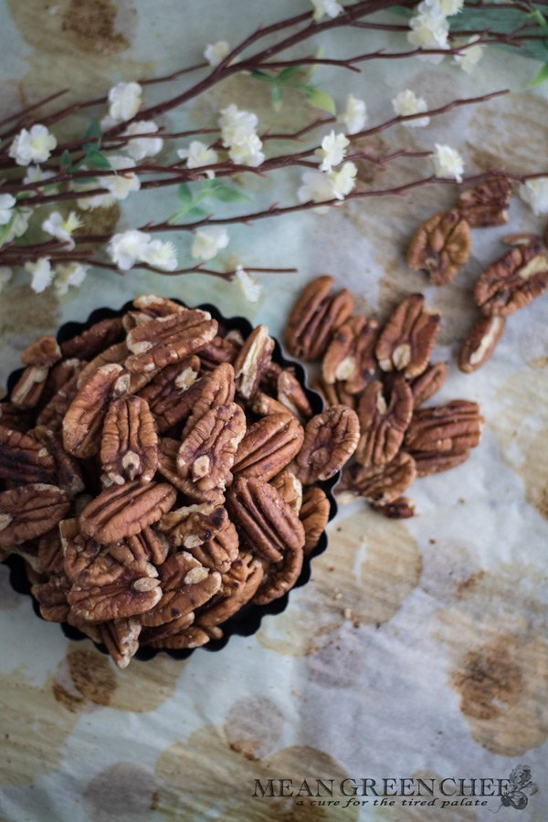 Roasted Pecan Pie Cookies Mean Green Chef