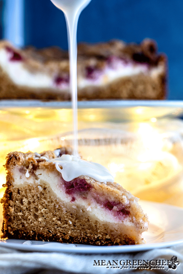 Raspberry Coffee Cake | Mean Green Chef