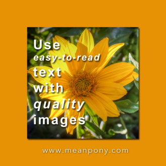 Create or source high quality images
