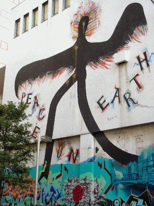 graffiti-bird-man