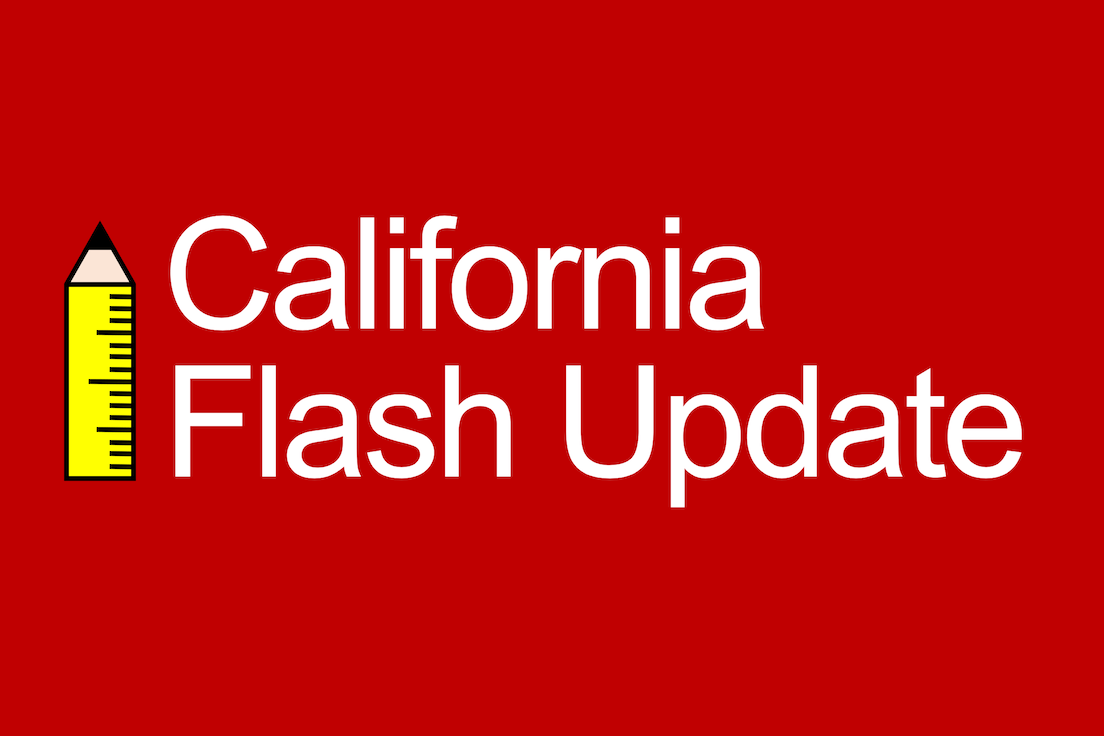 California Flash Update