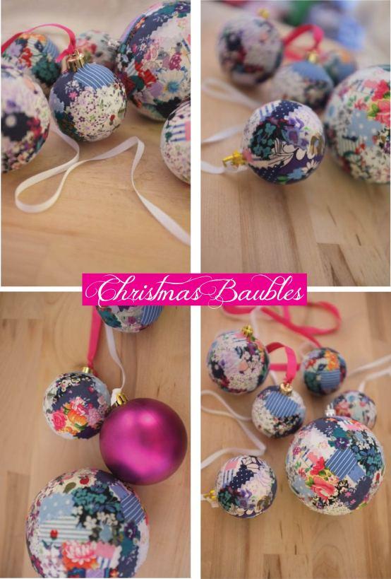 patchwork baubles