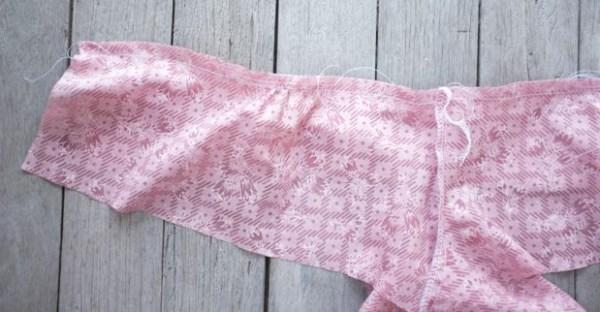 5 straight stitch yoke