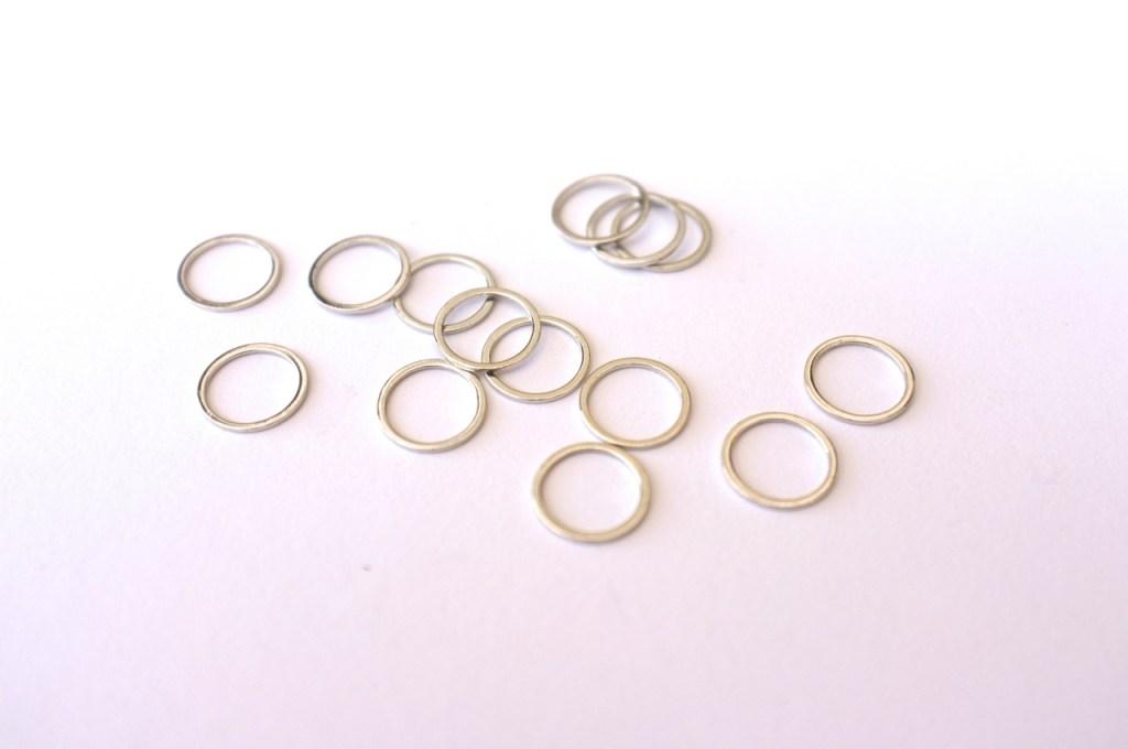 nickel bra rings