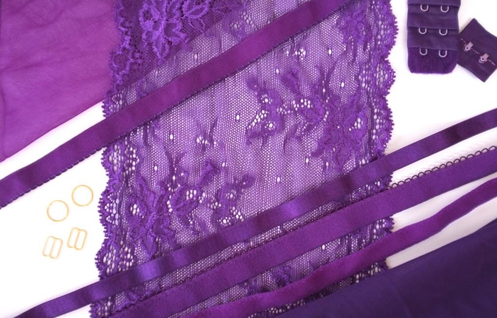 purple bra kit
