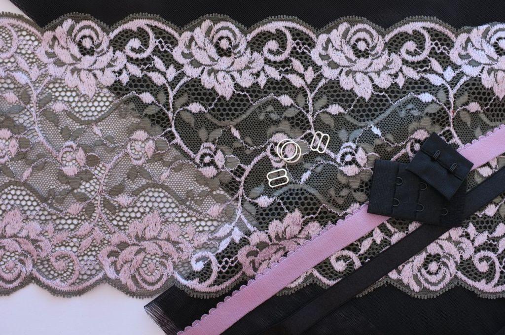 Grey and Lilac Bra Kit - 2