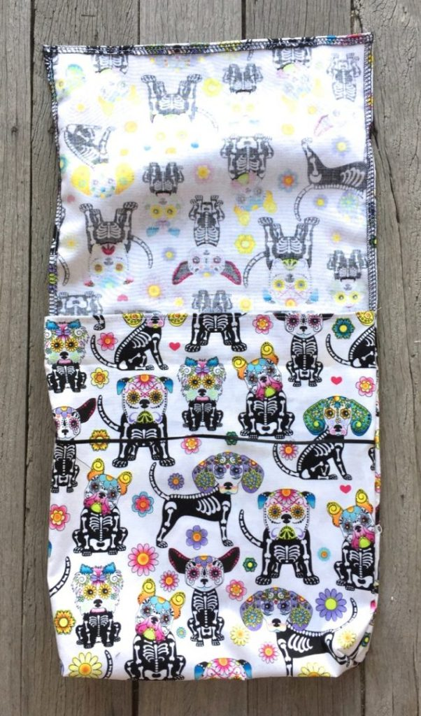 day of the dead cycling bags - 4
