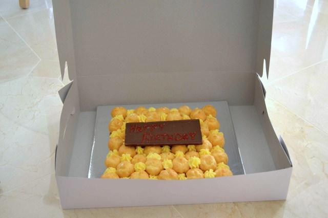 Cream Puff Cake in Box