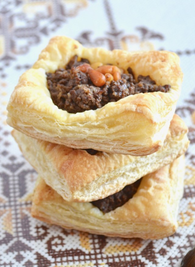 Puff Pastry Meat Pie