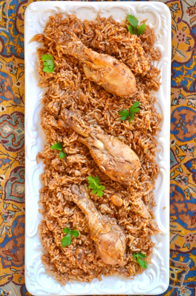 Middle Eastern Spiced Rice and Chicken