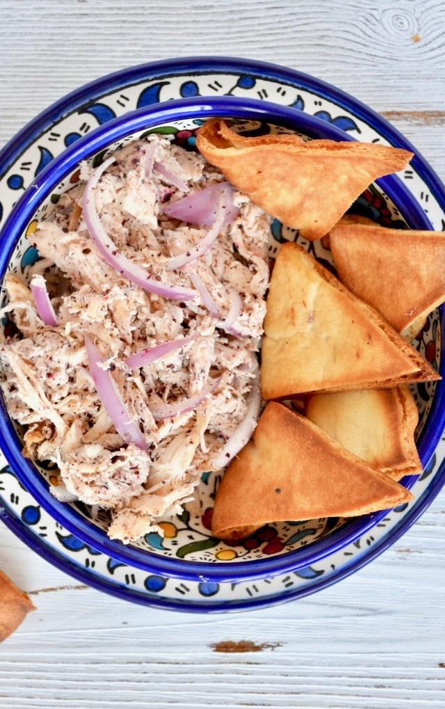 Rotisserie Chicken and Garlic Yogurt Salad