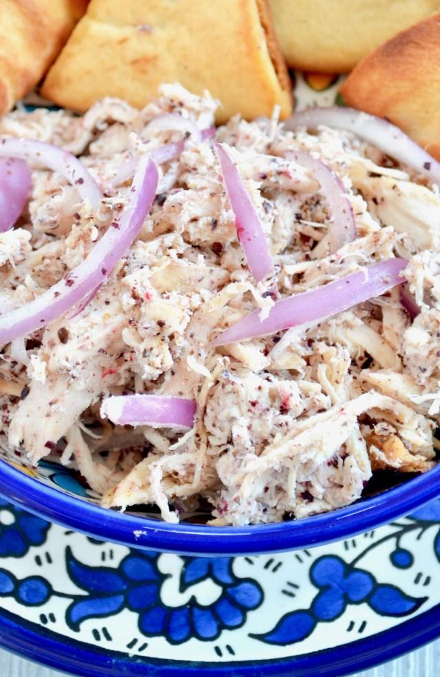 Garlic Yogurt Chicken Salad