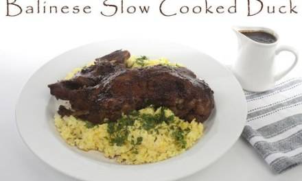 Slow Cooked Balinese Style Duck