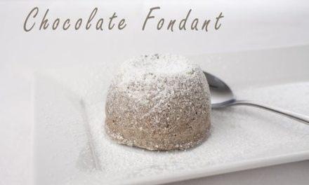 Super Easy Chocolate Fondant Cake