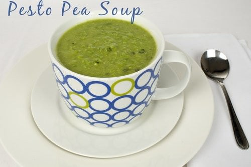 Easy Pesto Pea Soup – 4 Step Recipe