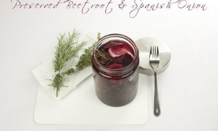 Preserved Beetroot & Spanish Onion