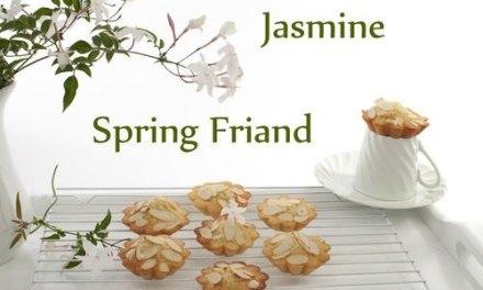 Spring Jasmine Friand
