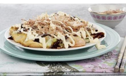 Osaka Style Okonomiyaki – Japanese Savoury Pancake