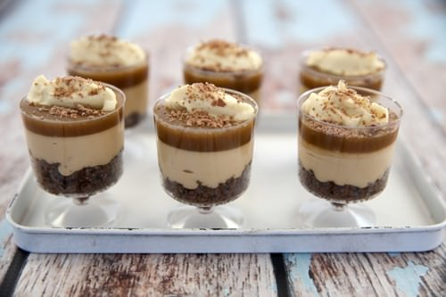 Salted Caramel Cheesecake – No Bake
