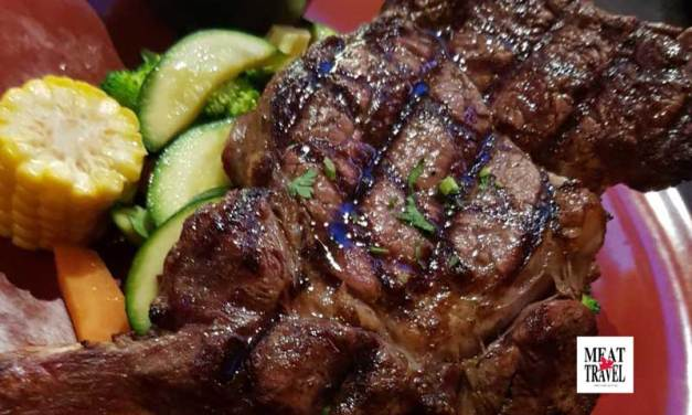 Volcanos Steakhouse Parramatta Review – Big 650g Rib Eyes & Much Meat!