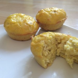 Low carb pepper jack muffins - grain free, nut free and sooo cheesy!