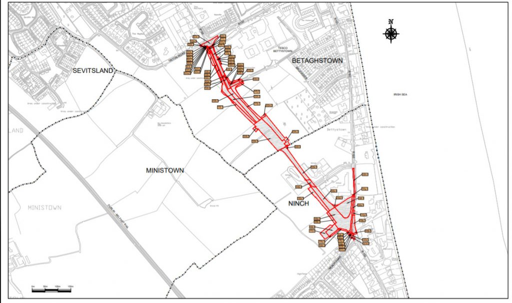 Bettystown - Laytown Spine Road plan