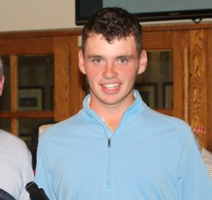 Annraoi Collins winner of the Peter Lyons Cup and Shield