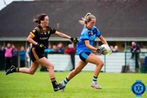 Intermediate Ladies player in action