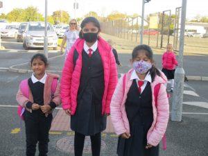 Donacarney Girls little sisters starting school 4