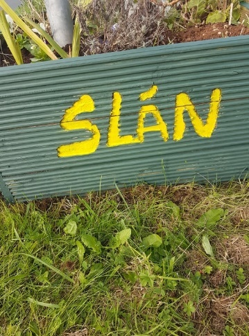 Laytown Slán sign