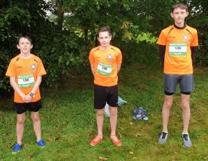 Fionn, Shane and Cian