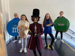 Halloween Art Doncarney Girls School costumes inside14