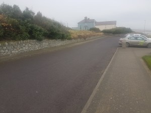 Laytown Tidy Towns car park cleaning