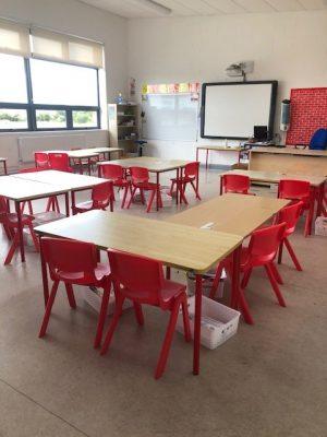 New classroom configurations