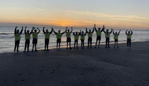 CNI Athletes Enjoy Sunrise in Bettystown