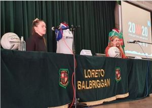 Loreto Balbriggan women at Sports elite talks