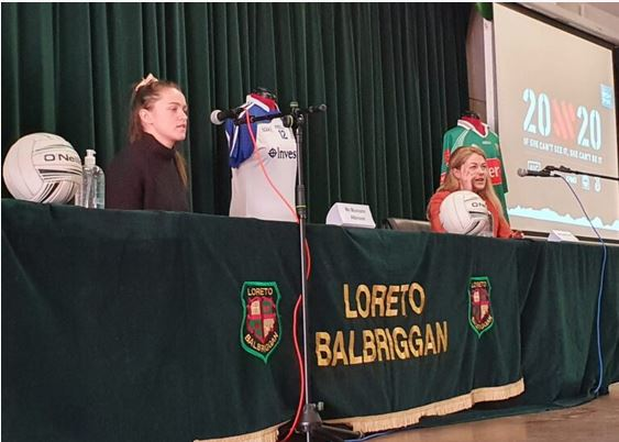 Loreto Balbriggan women at Sports elite talks