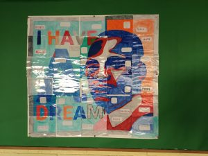 Ms D'Arcy Martin Luther King Collaborative Art