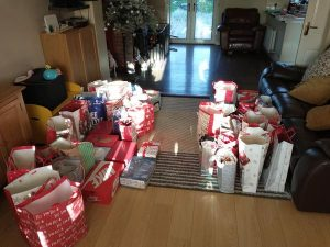 Gormanston nursing home christmas parcels2
