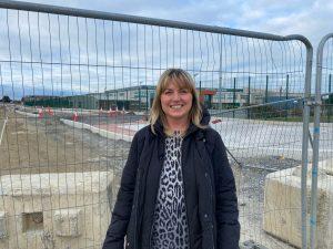 Spine Road Progress Cllr Sharon Tolan